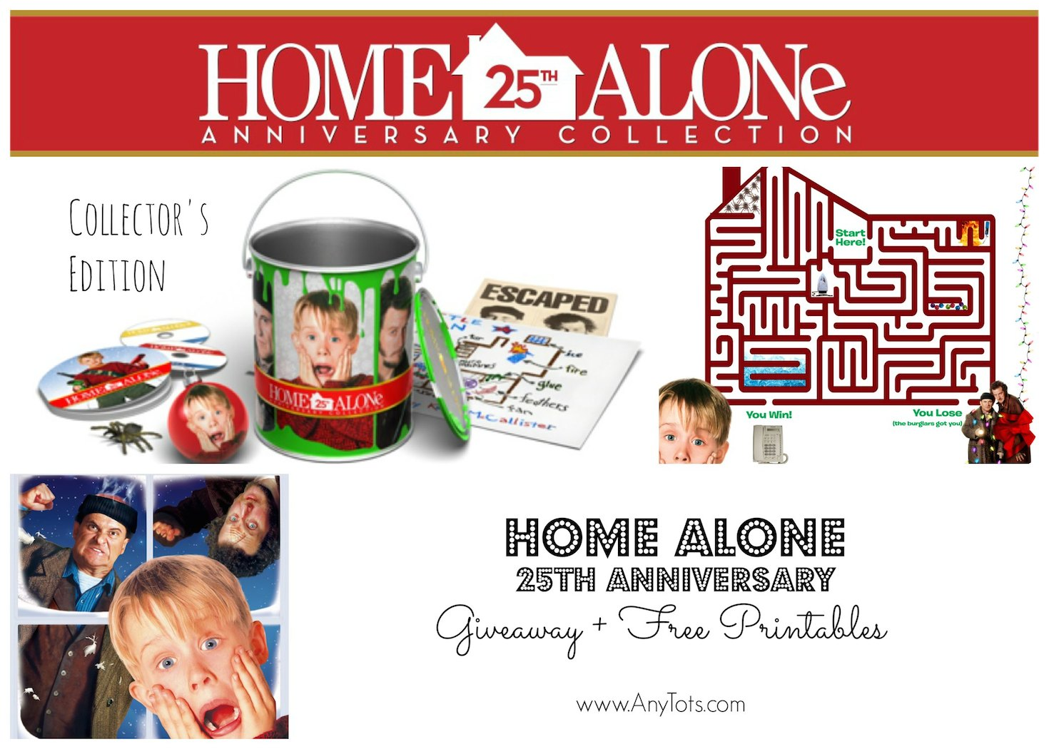 Win a Home Alone Collector's Edition Gift Set + Print Free ...