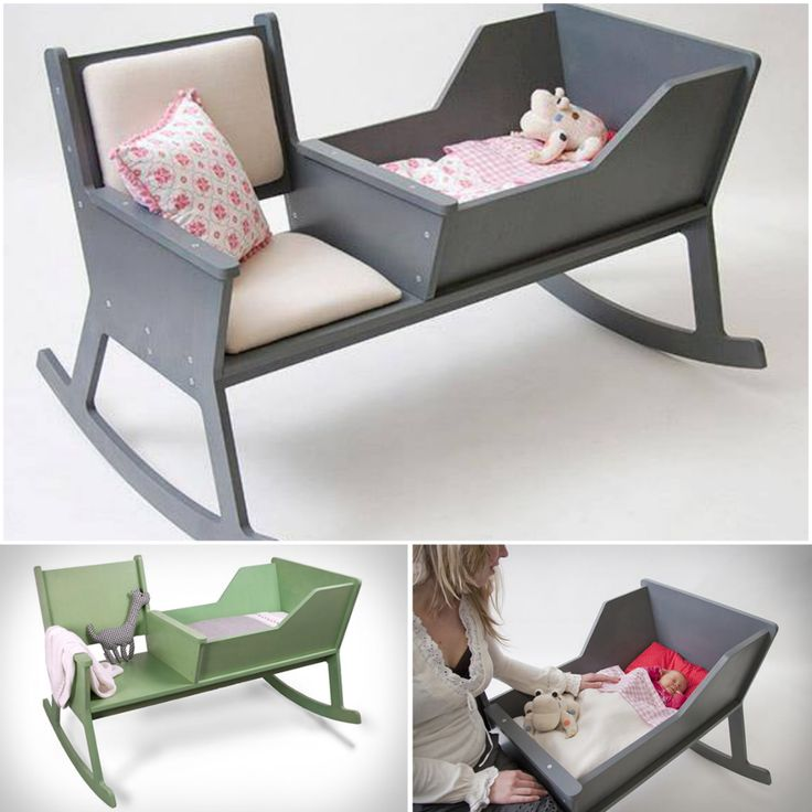 Helping Kids Grow Up How To Build A Rocking Chair Cradle With A Crib