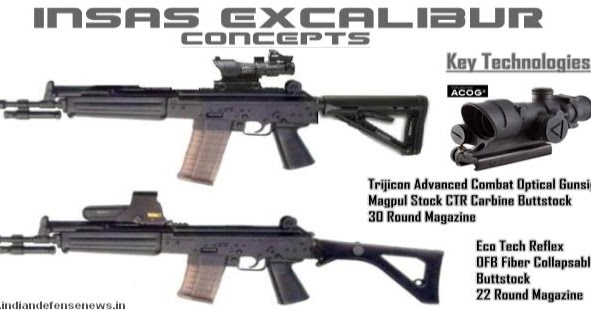 Hunt on for New Generation Assault Rifles; Upgraded INSAS ...