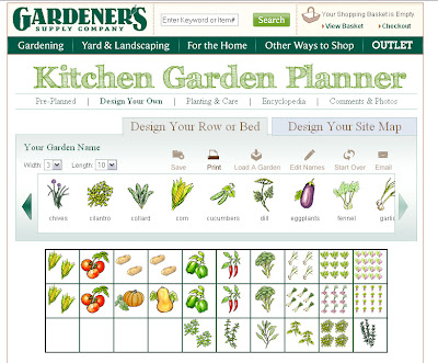 ... A Custom Garden Like I Did Below By Dragging And Dropping Your Veggies  In Each Square Foot Area And It Automatically Determines How Many Plantings  You ...