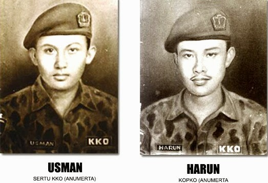 SIAPA PROFIL BIODATA BIOGRAFI SEJARAH PAHLAWAH PENGEBOM SINGAPURA NAMA nama Kapal TNI AL/KRI Usman-Harun