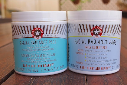 Fab First Aid Beauty Facial Radiance Pads Review
