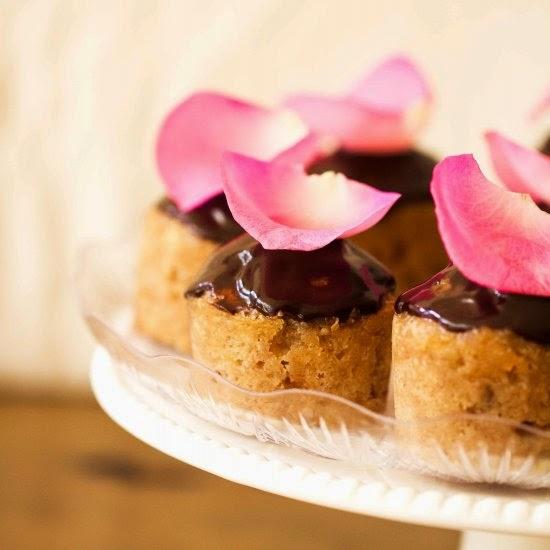 Picture of banana mocha cupcakes