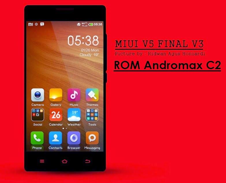 Tutorial Lengkap Instalasi ROM MIUI V5 untuk  Andromax C2