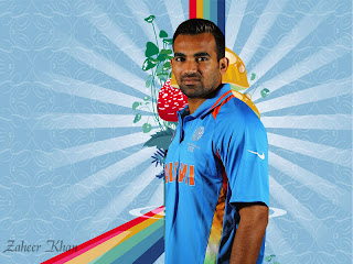 Zaheer Khan Latest Wallpapers 2012 Download Free
