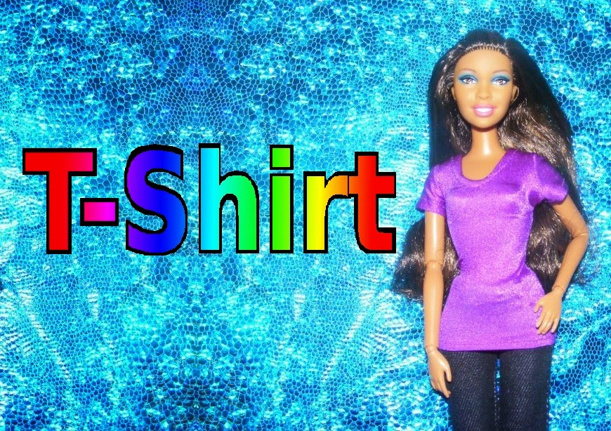 EternalSnowKiss: How to make doll clothes - T-shirt