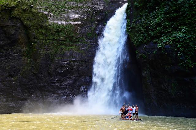 PAGSANJAN / MAGDAPIO FALLS Boat ride Brgy. Tibatib Cavinti Laguna Publo El Salvador Nature Park and Picnic Grove