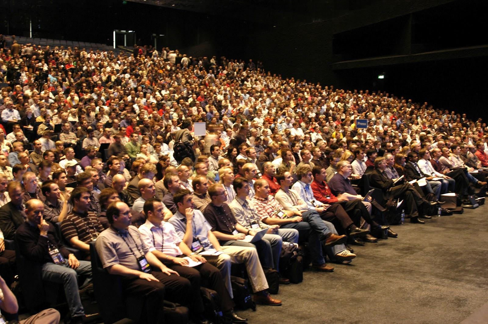 33ª reunión, el público