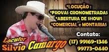 Locutor Silvio Camargo