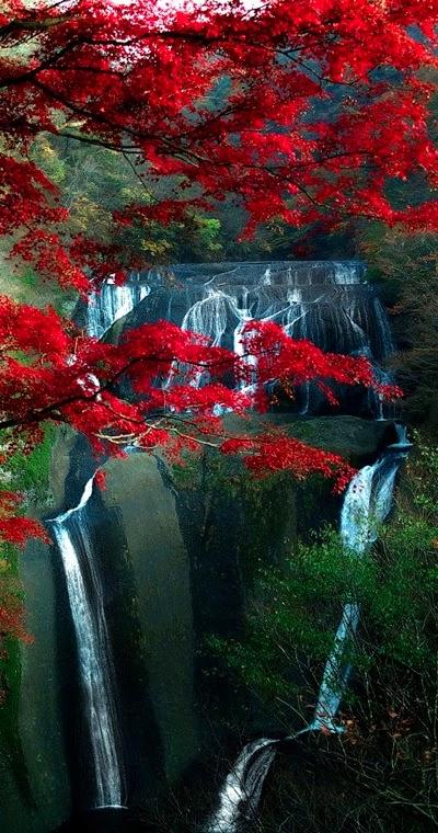 Fukuroda Falls in Ibaraki, Japan