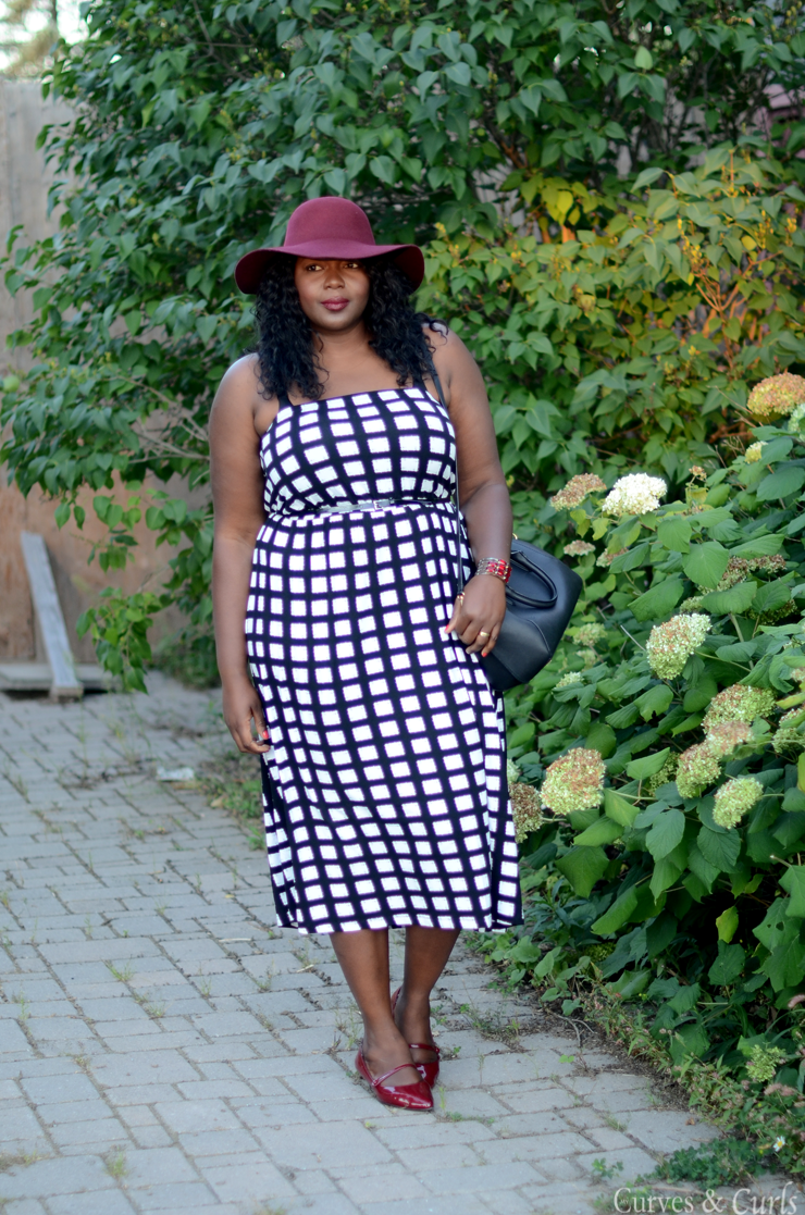 Plus size fashion for women #Asoscurve dress in check #plussize #fashion #curves #Falloutfits #mycurvesandcurls #Assacisse