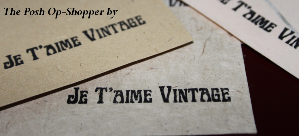 The Posh Op Shopper by Je T'aime Vintage