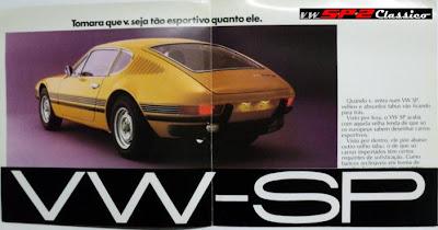 Prospecto de vendas SP2 1974