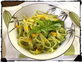 Recipe: Lazy weekend avocado pasta