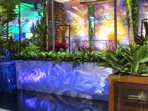 Philadelphia Flower Show 2015 movie theme Pirates of the Caribbean