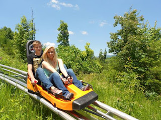 Alpine Coaster near Gatlinburg
