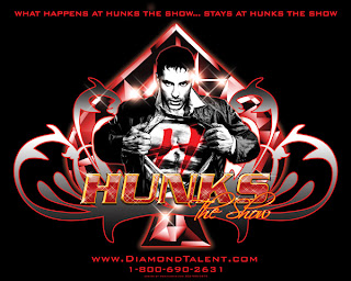 Hunks The Show Logo Design