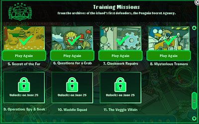 Club Penguin Missions 5-8 Released