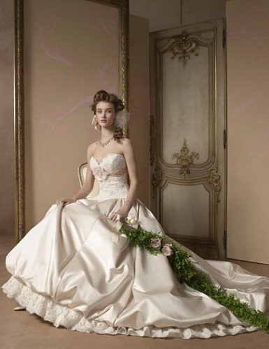 best wedding dress style: Alvina Valenta Wedding Gown Style