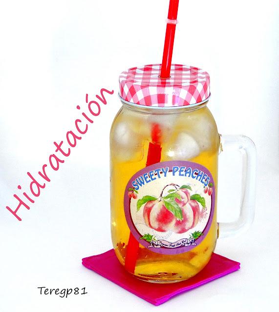 agua con ice tea