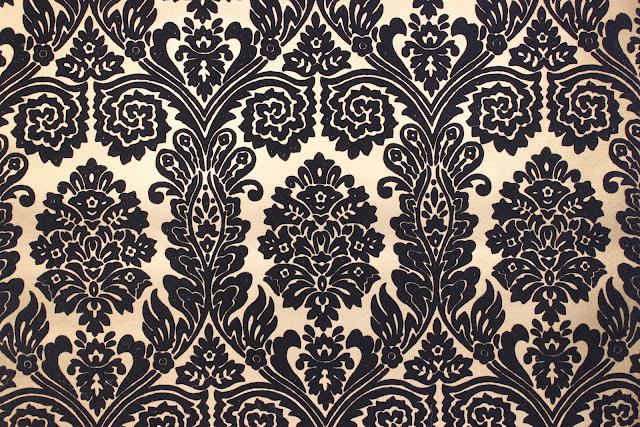 rosies vintage wallpaper vintage flocked wallpaper