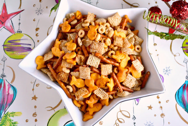 nuts and bolts snack mix recipe