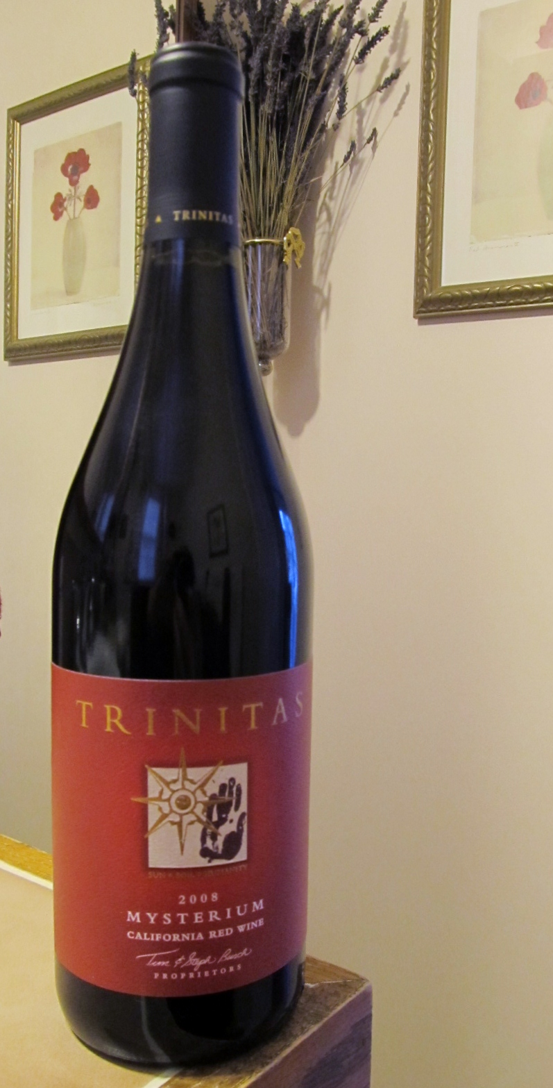 Spirit of Wine: Tasting Notes: Trinitas Cellars Mysterium California ...