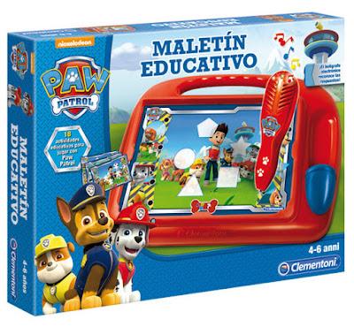 JUGUETES - PAW PATROL : La Patrulla Canina Maletín Educativo Clementoni | Edad: 4-6 años | comprar en Amazon