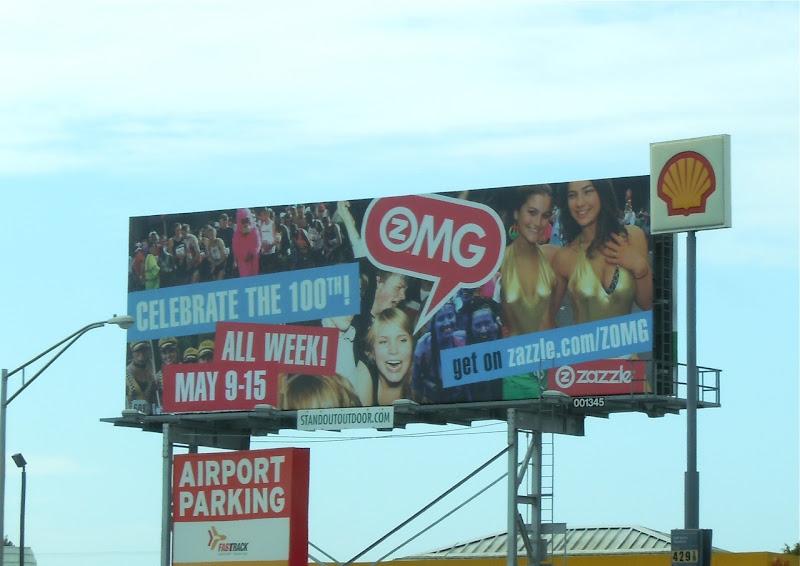 Bay to Breakers Zazzle billboard
