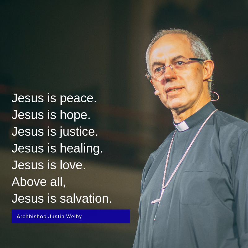 Arcebispo de Cantuária - Inglaterra