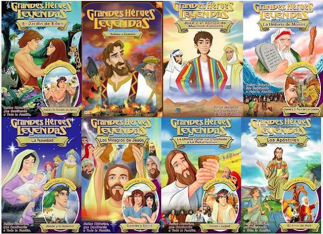Grandes Heroes Y Leyendas De La Biblia