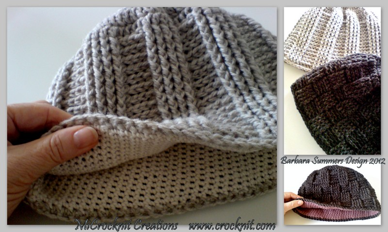 Beautiful Crochet Mens Beanie Pattern Festooning Easy Scarf