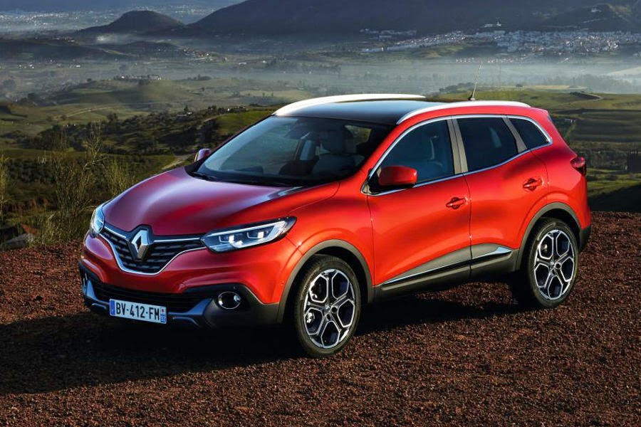Renault Kadjar (2016) Front Side