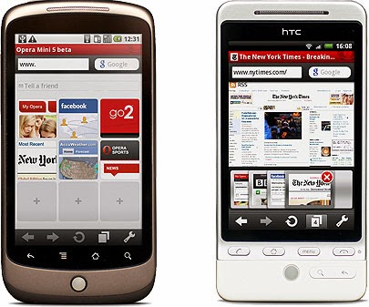 cara download video Youtube di Opera Mini