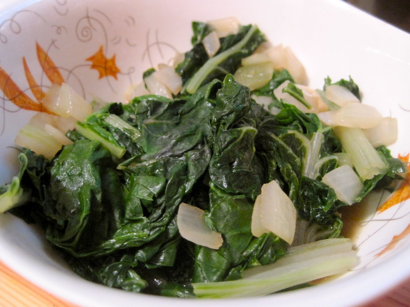 Kvell in the Kitchen: Sautéed Swiss Chard with Onions