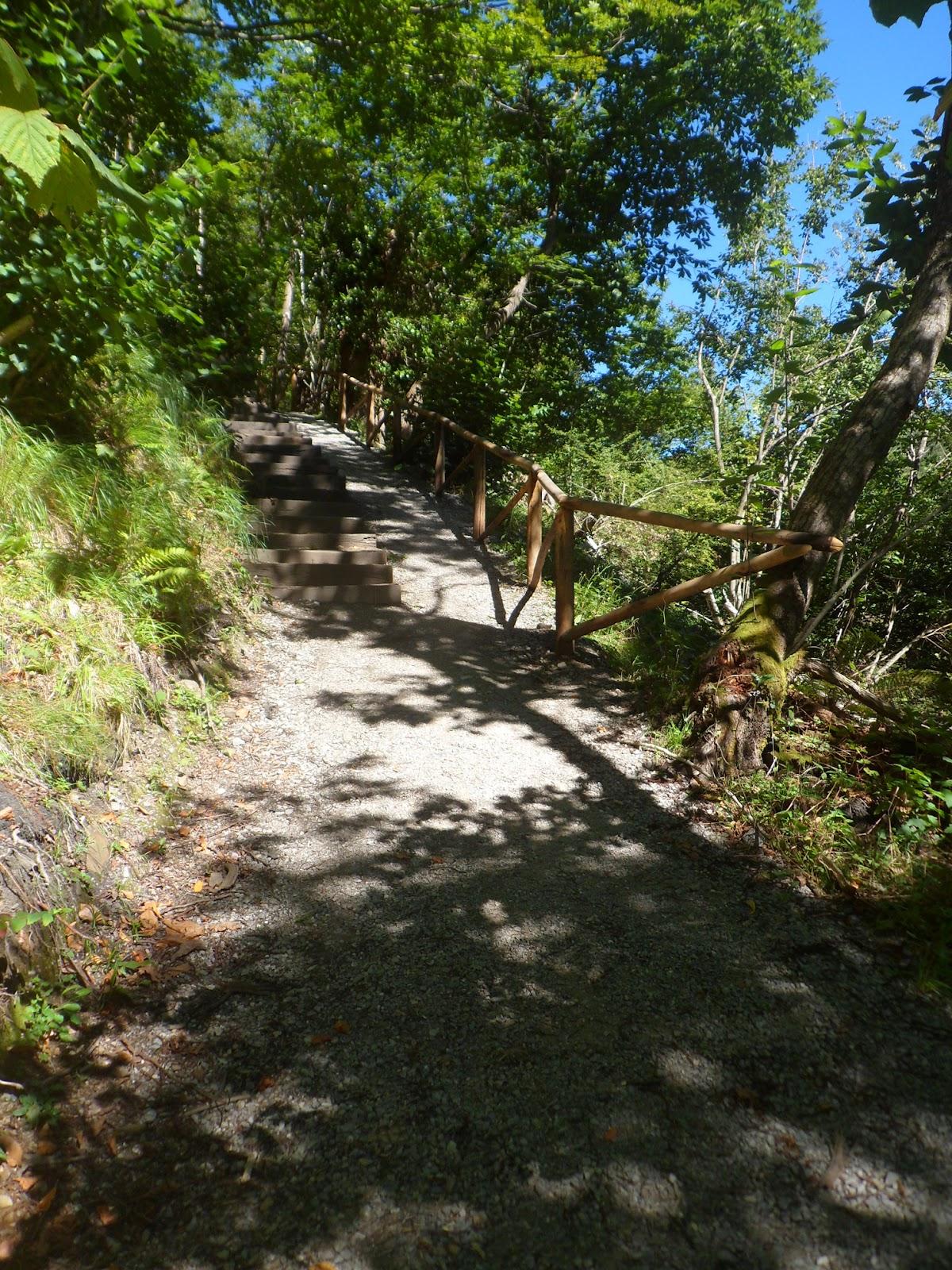Senda btt p r as 295 cascada de xurbeo y canal de agua for Cascada par