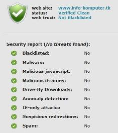 Online Website Security Scanner (Free)