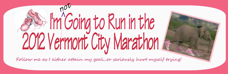 I'm Going to Run in the 2012 Vermont City Marathon