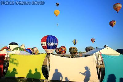 gens silhouettes vie quotidienne ballons montgolfières chambley mondial air ballon 2013 Lorraine