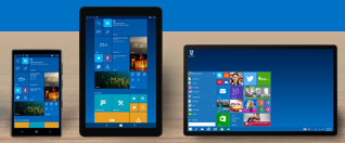 Windows 10 across all devices