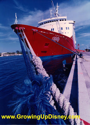 Premier Cruise Line SS Atlantic Disney Big Red Boat
