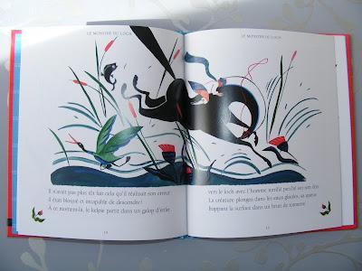 LE MONSTRE DU LOCH (CONTE ÉCOSSAIS) illustrée par Louise Pianetti-Voarick DSCF1746