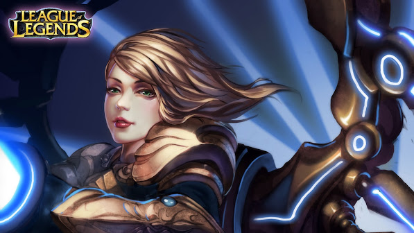 kayle girl champion league of legends lol game hd