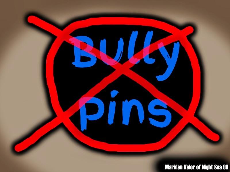 Pinterest Etiquette. No more bully pins.