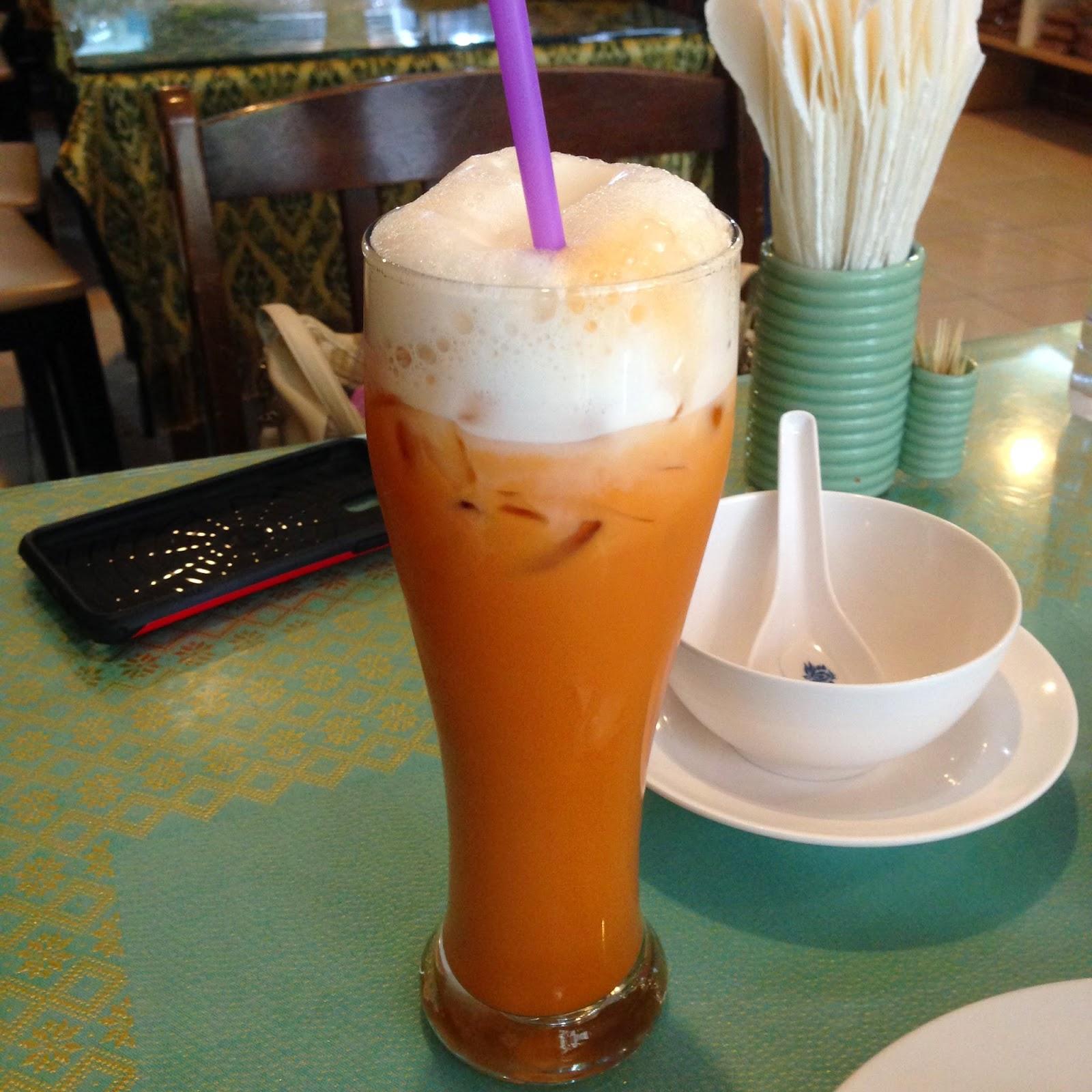 Usman Thai Muslim Food Thai tea