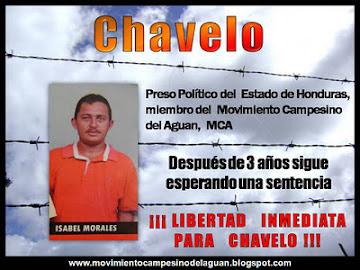 CAMPAÑA: INMEDIATA LIBERACION DE CHAVELO