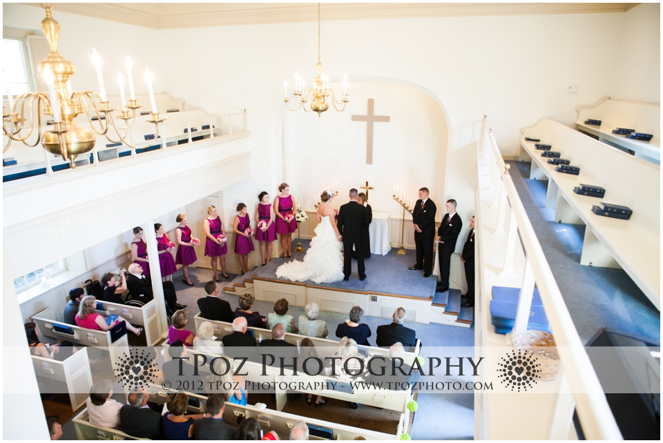 Leesburg Presbyterian Church Wedding Ceremony
