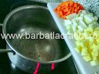 Supa crema de cartofi cu afumatura preparare reteta