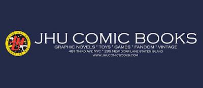 <center>JHU Comic Books</center>