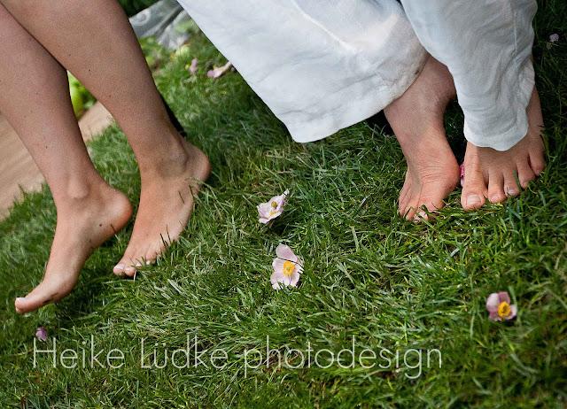 Hochzeitsbilder barfuß